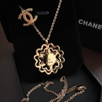 Kalung Chanel Panjang Love Design Stainless Steel Super Premium