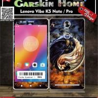 Premium Garskin Lenovo Vibe K5 Note / Pro custom & macam tipe hp lainn