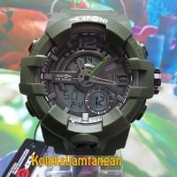 JAM TANGAN PRIA EXPONI EP3261 DIGITAL HIJAU ARMY ORIGINAL MURAH
