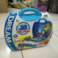 mainan anak dream box medical the suitcase play set
