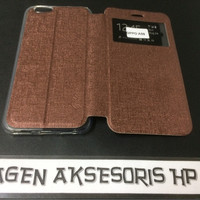 Flip Cover Oppo F1s A59 Leather Case  Sarung HP F1 S Selfie  T2909