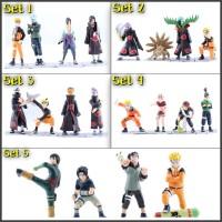 Action figure Naruto 6pcs