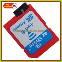 EZ Share WiFi microSD Adapter Card Reader Up To 32GB Red