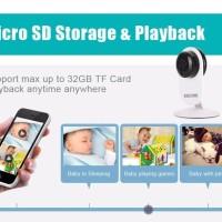 [MG]Ant QF605 Wireless IP Camera CCTV 1/4 Inch CMOS 720P ESCAM MURAH