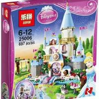 LEGO DISNEY LEPIN 25006 FAIRY TALE CINDERELLA ROMANTIC CASTLE