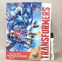 Mainan action figure TRANSFORMERS OPTIMUS PRIME First edition Tinggi k