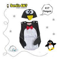 Baju Bayi Jumper Karakter Stelan Kostum Binatang Pinguin Lucu