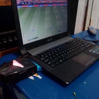 laptop Asus n43s core i7 ram 4gb hdd 640gb dual vga nvidia geforce