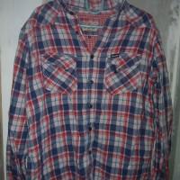 flannel wrangler 100% Original legit size M (kemeja flanel)