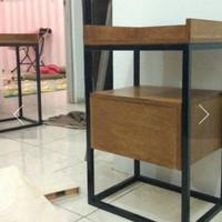 Harga promo sidetable rak buku laci salon kecantikan rumah | Pembandingharga.com