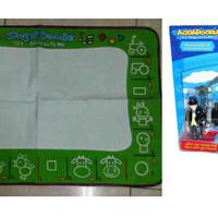 matras menggambar ( aquadoodle) plus stamps thomas train
