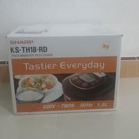 Sharp Rice Cooker Digital KS-TH18-RD