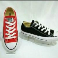 Sepatu Sekolah All Star Ori IW 884 Warna Merah,IW 915 Warna Hitam