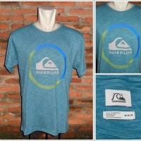 Quiksilver Ocean Blue Textured T-Shirt Original Size M
