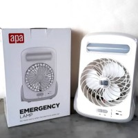 Emergency lamp and fan/ lampu emergency plus kipas / APA ACE HARDWARE