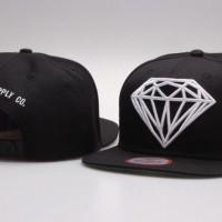 diamond snapback hat cap trucker topi
