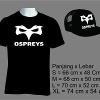 Kaos Osprey Free topi