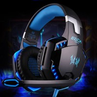 Harga kotion each g2000 gaming headset super bass led   Hargalu.com