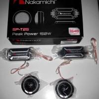 Harga speaker tweeter dan crossover nakamichi t25 tweeter mobil | Pembandingharga.com