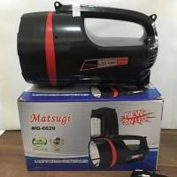 Senter Besar Emergency Terang 3W LED MATSUGI MG6629 Berkualitas
