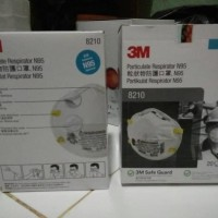 Masker / Dust Mask 3M 8210 N95 Particulate Respirator