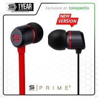 PRIME (Mini) Optimal Acoustics In-Ear Headphone Earphone SOUL Red