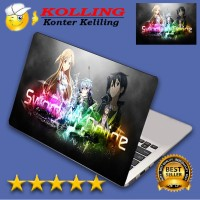 Garskin Laptop Sword Art Online 3 Skin Laptop Stiker Laptop