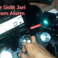 Fingerprint Sensor Sidik Jari Alarm Module untuk Motor & Mobil