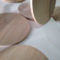 tatakan gelas kayu 85mm/ bukan cork coster / coaster /alas gelas kayu