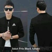 Jual Pusat Jaket Pria - Jaket cowok online - Jaket Pria Black Adidas Murah