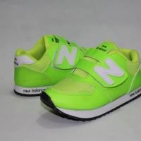 Sepatu anak sepatu sekolah anak sepatu NB green anak size 24-28