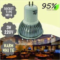WEITECH LAMPU BOHLAM LED 1005 MR16-3 WATT