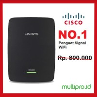 Penguat Signal Wifi Linksys RE1000 Wi-Fi Range Extender N300