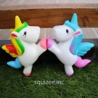 Squishy Unicorn Kuda My Little Pony Horse Putih Colorful