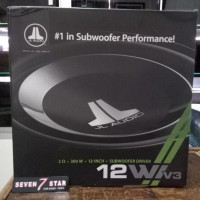 Subwoofer Jl Audio W1 V3 12