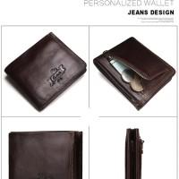 CONTACT'S Male Card ID Holder dompet kulit asli original pria fashion
