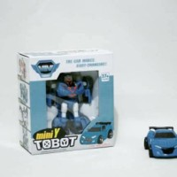PROMO KFS Mainan Anak Tobot - Mini Transformer Robot To Car - Mini