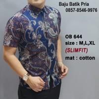 Contoh Baju Batik - Model Batik Modern - Contoh Model Baju Batik