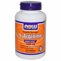 Now Food Foods LArginine L Arginine Amino Acid 1000 mg 120 Tabs