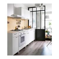 IKEA FYNDIG Kabinet Dapur dasar dgn pintu dan laci 40x60x86 cm, putih