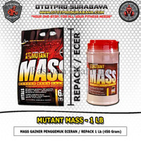 SPECIAL Suplemen Fitness Mutant Mass 1Lb/Repack/Ecer/Gainer/Penambah/P