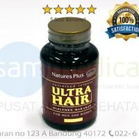 NATURES PLUS ULTRA HAIR Vitamin Rambut dan Kepala 60 Tab