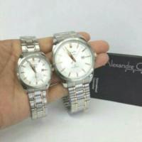 Jam Tangan Couple Alexandre Christie Original Ac 8404 (Harga Sepasang