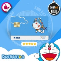 Emoney/E-Money/E-Toll FLAZZ BCA Card (Kartu) - Kartun DORAEMON DORA08
