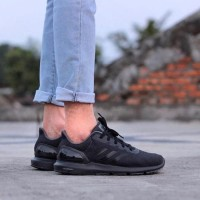 Terlaris Sepatu Pria Original Adidas Cosmic Runner II FullBlack
