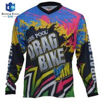 Jersey Drag Bike / Baju sepeda / Baju Motor Cross