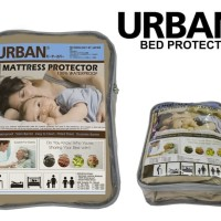URBAN Bed Protector Mattress Single Sprei Waterproof Anti Air 100x200