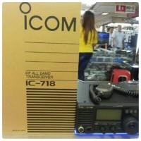 HF ssb icom718