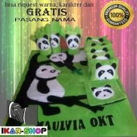 Ikar23 Karpet Karakter Panda Fullset (4cm) #Promo