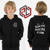 Jaket Sweater Anak 'Anti Social Social Club'